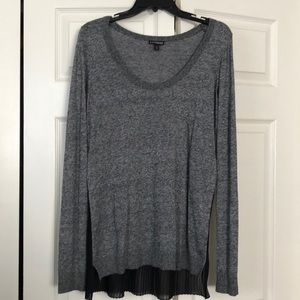 Express sweater with back detail